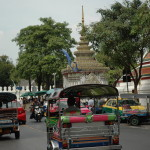 Negotiating the Busy Streets of Bangkok, with Kids