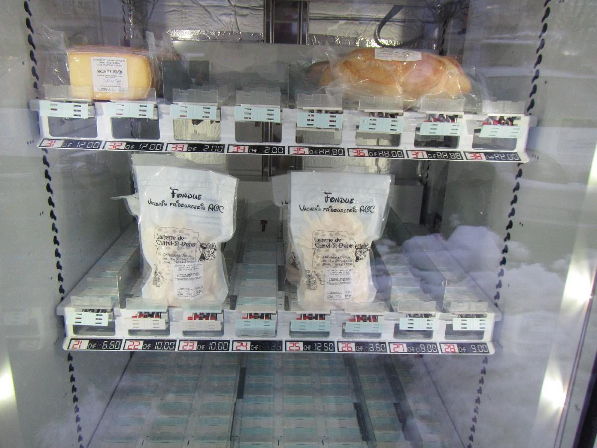 Cheese Vending Machine