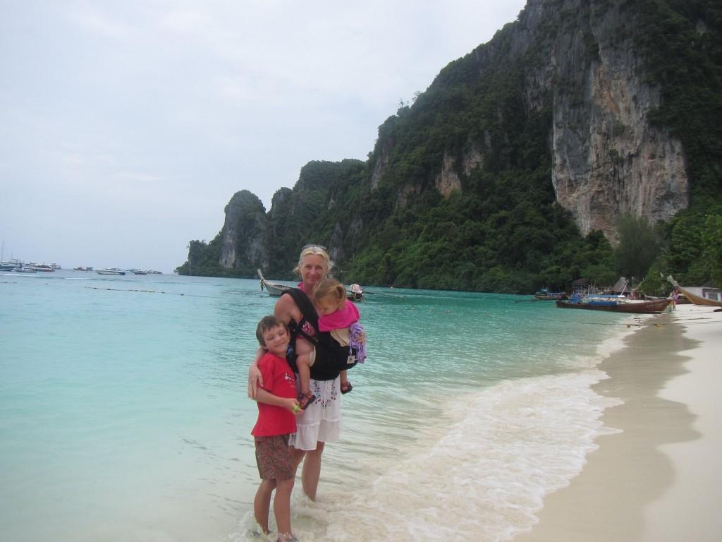 Ko Phi Phi with kids 2013