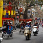 Traffic Before and After Tet in Hanoi