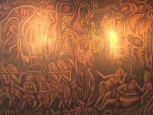 Artist/teacher Phany's work
