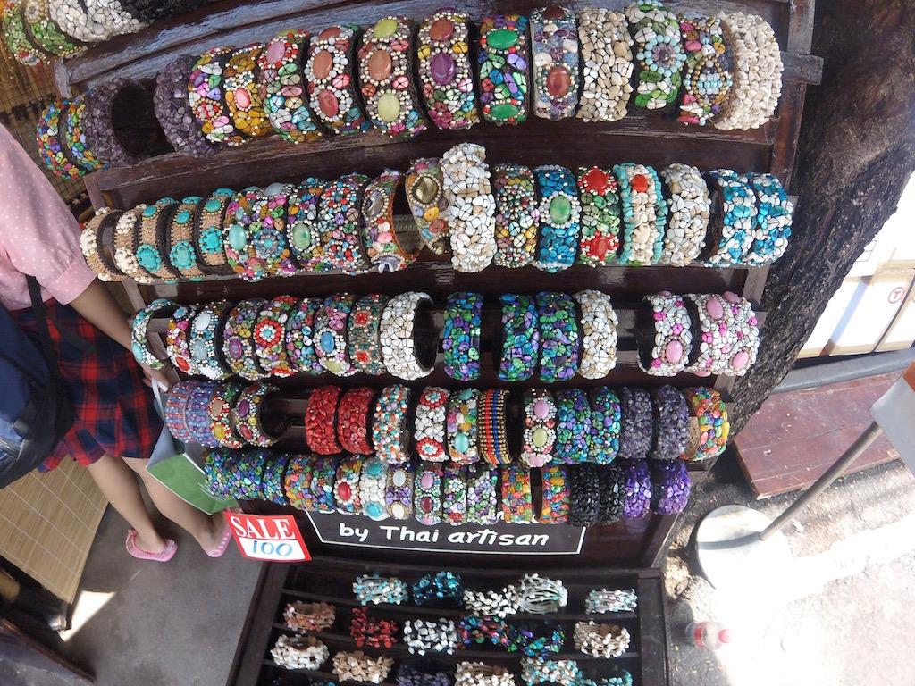 At the Chatuchak Market, Bangkok